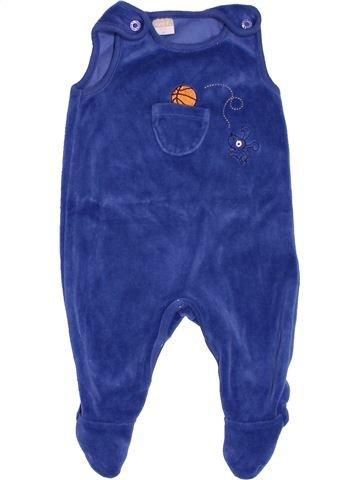 Pyjama 1 pièce garçon NAME IT bleu 1 mois hiver #1501039_1