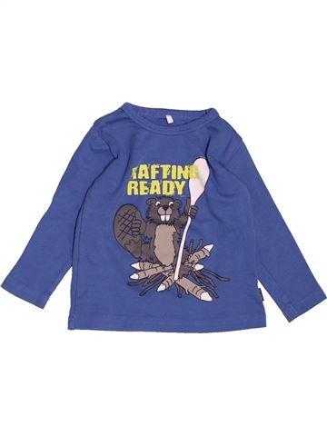 Camiseta de manga larga niño NAME IT azul 12 meses invierno #1501066_1
