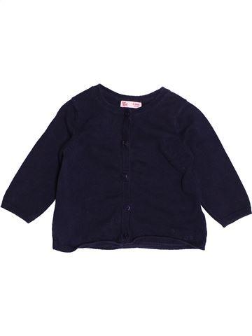 Gilet fille DPAM noir 6 mois hiver #1501156_1