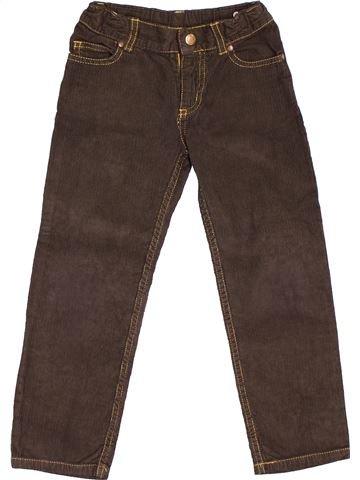 Pantalón niño PETIT BATEAU marrón 5 años invierno #1501208_1