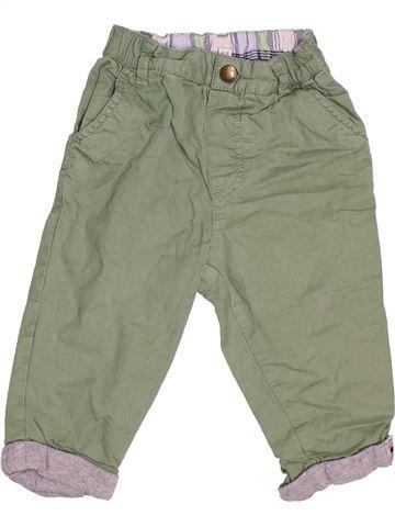 Pantalón niño DEBENHAMS verde 9 meses invierno #1501246_1