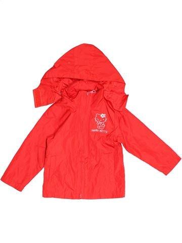 Anorak-Trinchera niña HELLO KITTY rojo 4 años verano #1501378_1
