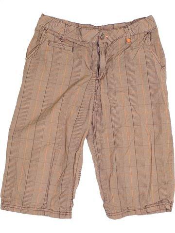 Short - Bermuda garçon H&M marron 11 ans été #1501409_1