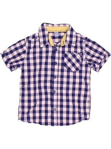 Camisa de manga corta niño DOPODOPO gris 5 años verano #1501412_1