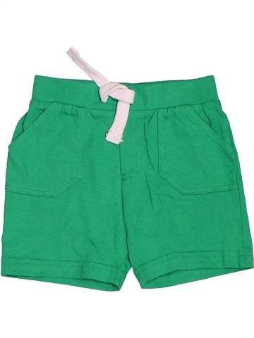 Short - Bermuda garçon F&F vert 12 mois été #1501413_1