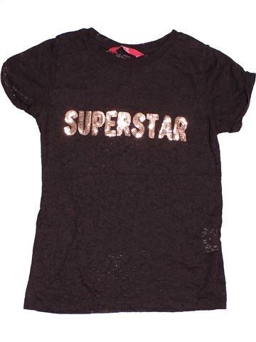 Camiseta de manga corta niña PRIMARK marrón 8 años verano #1501614_1