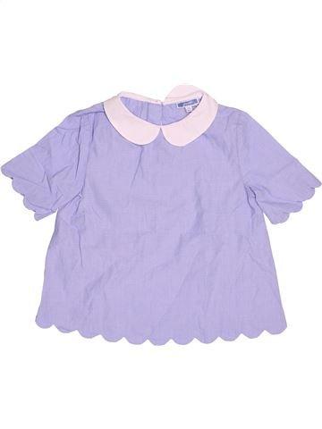 Blusa de manga corta niña JACADI gris 8 años verano #1501728_1