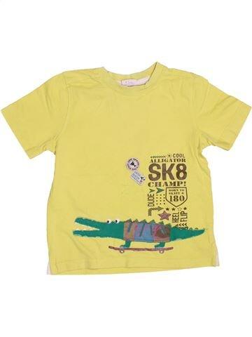 Camiseta de manga corta niño MINI CLUB amarillo 5 años verano #1501959_1