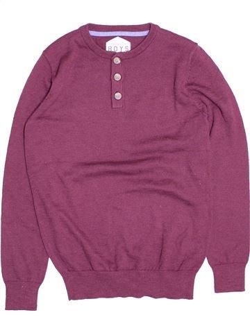 jersey niño MATALAN violeta 12 años invierno #1501974_1