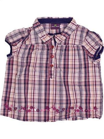 Blusa de manga corta niña SERGENT MAJOR violeta 3 años verano #1502239_1