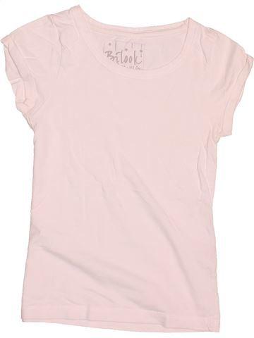 Camiseta de manga corta niña KIABI rosa 8 años verano #1502375_1