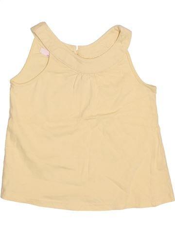 T-shirt sans manches fille LA REDOUTE CRÉATION beige 3 ans été #1502383_1