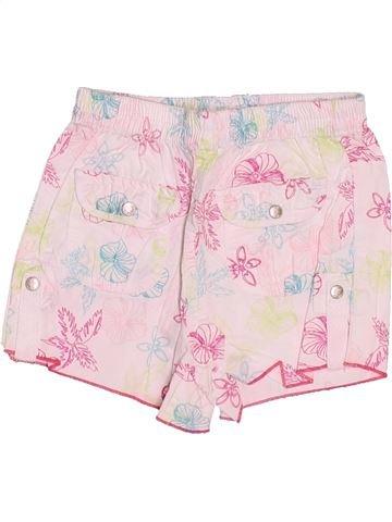 Short-Bermudas niña KIABI rosa 2 años verano #1502391_1