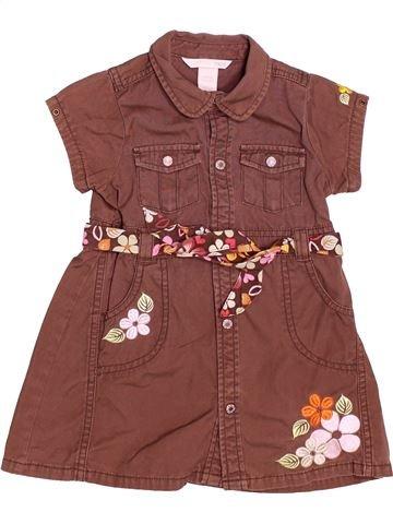 Vestido niña H&M marrón 18 meses verano #1502447_1