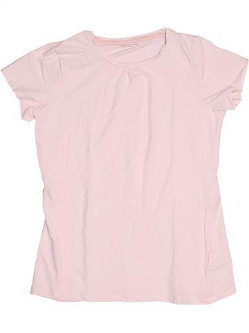 Camiseta de manga corta niña VERTBAUDET rosa 14 años verano #1502827_1