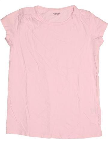T-shirt manches courtes fille VERTBAUDET rose 14 ans été #1502849_1