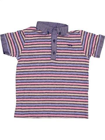 Polo manches courtes garçon NEXT violet 5 ans été #1502860_1
