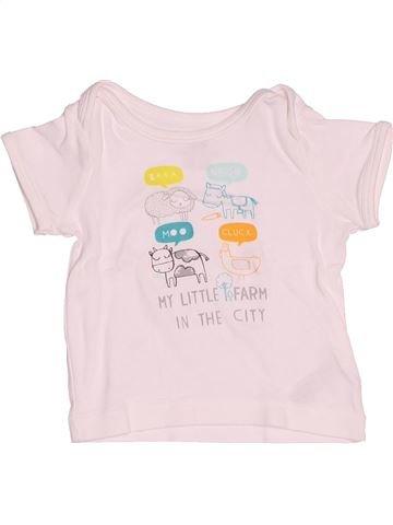 T-shirt manches courtes garçon H&M blanc 3 mois été #1502909_1