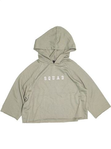 Sweat fille NEW LOOK beige 13 ans hiver #1503106_1