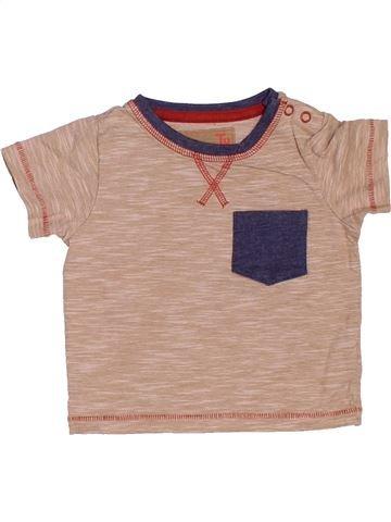 T-shirt manches courtes garçon TU rose 6 mois été #1503654_1