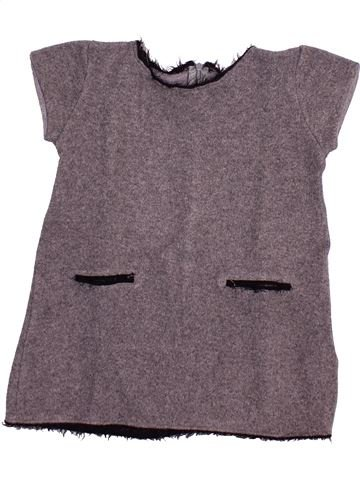 Vestido niña ZARA gris 5 años invierno #1503681_1