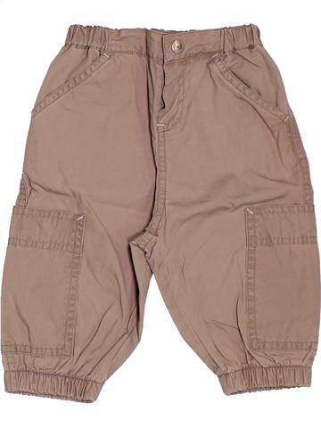Pantalon garçon PETIT BATEAU rose 6 mois été #1503815_1