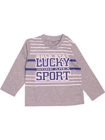 Camiseta de manga larga niño LUSA gris 2 años invierno #1503932_1
