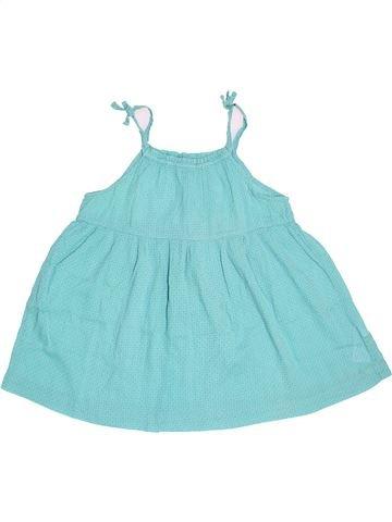 Blouse manches courtes fille VERTBAUDET bleu 12 ans été #1504009_1