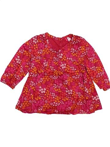 Blusa de manga larga niña ORCHESTRA rojo 12 meses invierno #1504037_1