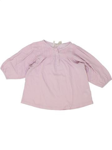 Camiseta de manga larga niña OKAIDI rosa 3 años invierno #1504167_1