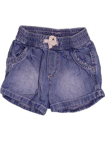 Short-Bermudas niña H&M azul 2 años verano #1504281_1