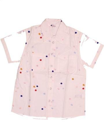 Camisa de manga corta niño PETIT BATEAU blanco 10 años verano #1504322_1