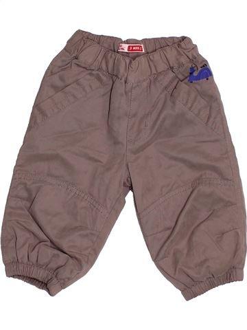 Pantalon garçon DPAM marron 3 mois hiver #1504424_1