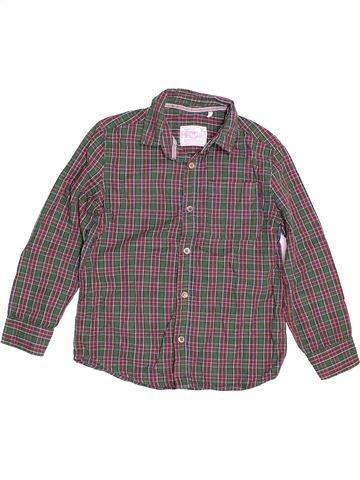 Chemise manches longues garçon TU gris 7 ans hiver #1504677_1