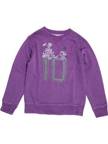 Sweat garçon BELLEROSE violet 10 ans hiver #1505425_1