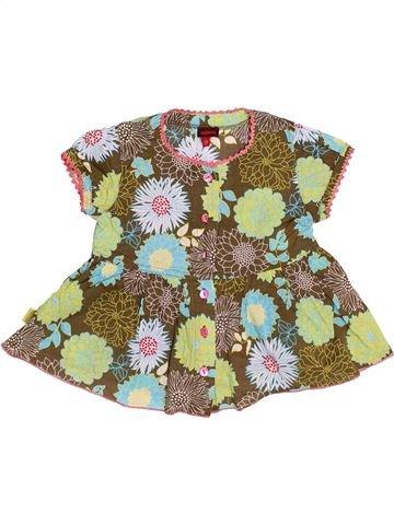 Blusa de manga corta niña CATIMINI verde 2 años verano #1505909_1