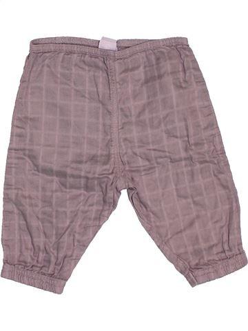 Pantalón niña PETIT BATEAU violeta 6 meses verano #1506129_1