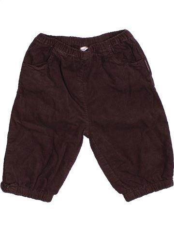Pantalón niña BOUT'CHOU marrón 6 meses invierno #1506160_1