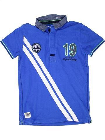 Polo manches courtes garçon NEXT bleu 11 ans été #1506560_1