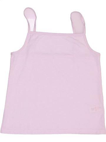T-shirt sans manches fille TU rose 11 ans été #1506814_1