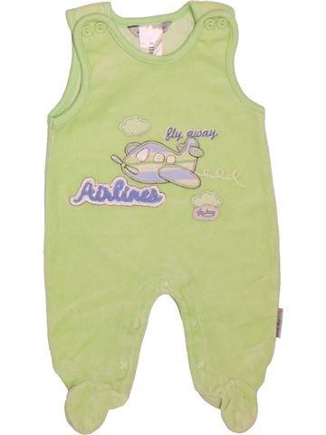 Pijama de 1 pieza niño JACKY verde 0 meses invierno #1506903_1