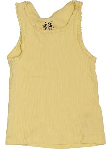 T-shirt sans manches fille F&F beige 3 ans été #1506962_1