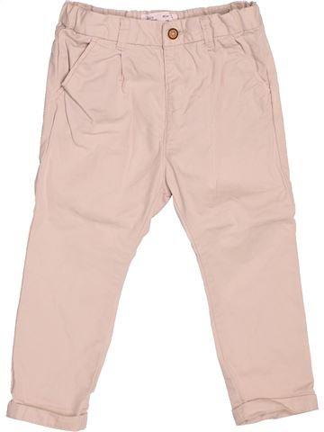 Pantalón niña ZARA violeta 2 años verano #1507143_1