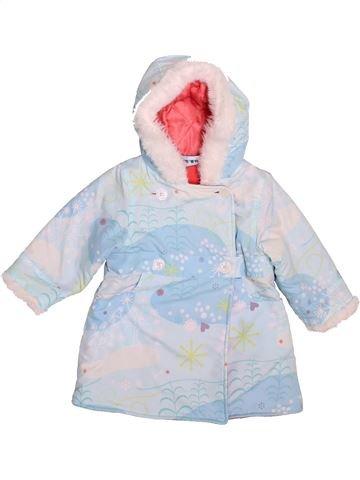 Manteau fille DPAM blanc 18 mois hiver #1507180_1