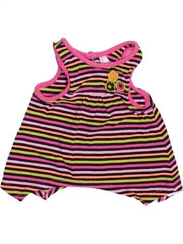 T-shirt sans manches fille ORCHESTRA rose 9 mois été #1507432_1
