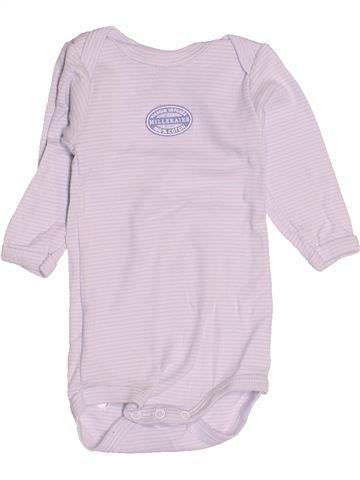 Camiseta de manga larga niño PETIT BATEAU blanco 3 meses invierno #1507653_1