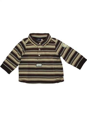 Polo manches longues garçon SERGENT MAJOR marron 6 mois hiver #1508015_1