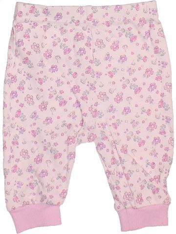 Pantalon fille GEORGE blanc 3 mois hiver #1508506_1