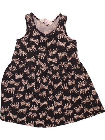 Vestido niña H&M marrón 2 años verano #1508652_1