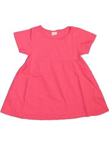 Vestido niña H&M rosa 12 meses verano #1508666_1